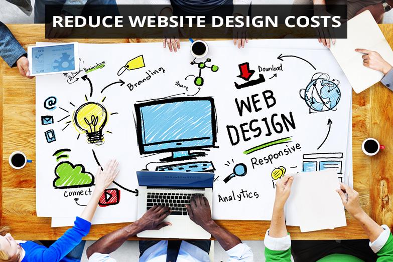 reduce website design costs