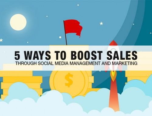 5 Ways to Boost Sales through Social Media Management and Marketing